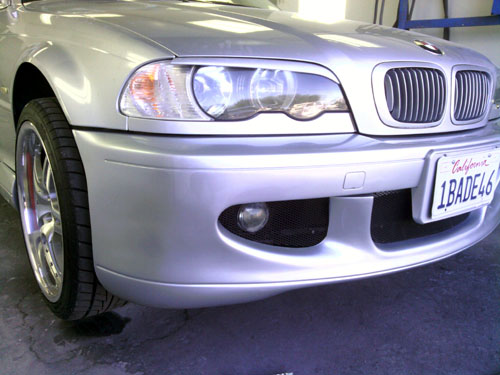 silver bmw auto body repair after